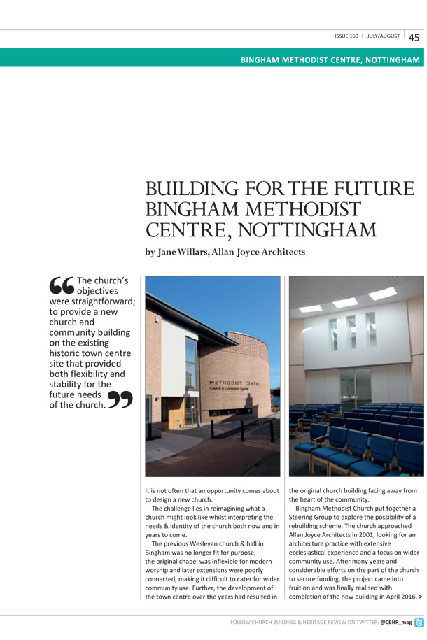2016 11 bingham methodist centre article 02